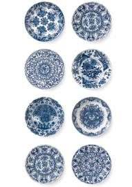 Kek Amsterdam WP 373 Royal Blue Plates Fotobehang  - Dutch Wallcoverings