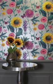 VTWonen Magazine Binnen Kijken December 2019 Behang Bloom 676204 Bloemen Arthouse