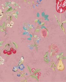 Eijffinger Pip Studio 4 Behang 375023 Bloemen/Vogels/Fruit