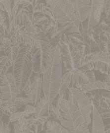 BN Wallcoverings Riviera Maison 2 Behang 219912 Botanisch/Bladeren/Natuurlijk/Landelijk/Taupebruin