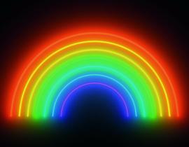Noordwand Good Vibes Fotobehang GVD24304 Rainbow/Regenboog/Modern