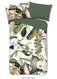 Muller Textiles Dekbedovertrek 2683-F Leaves Green/Botanisch/Bladeren