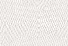 Hookedonwalls Sketch Behang 19522 Cord/Modern/Grafisch/Lijnen