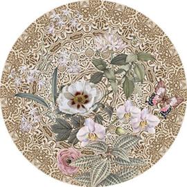 Behangexpresse Circle of Life/Select.D Cirkel TD810 Molly/Mandala/Vlinders/Bloemen