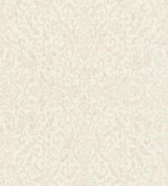 Rasch Amiata 296173 Barok/Ornament/Klassiek/Landelijk/Romantisch/Roze Behang