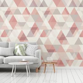 Dutch Wallcoverings One Roll One Motif Behang IW2402 Triangle/Driehoek/Modern
