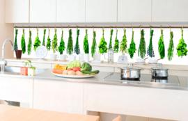 Dimex Zelfklevende Keuken Achterwand Herbs KL-350-007 Kruiden/Natuurlijk