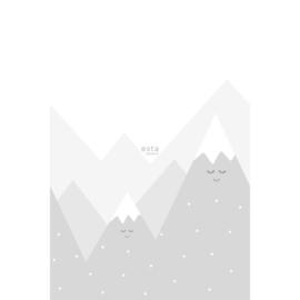Esta XL Photowalls For Kids 158840 Mountains/Bergen/Sneeuw/Peuter/Kleuter Fotobehang