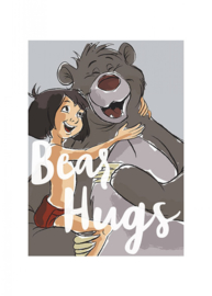 Komar/Disney Edition4 Poster/Affiche WB013 Jungle Book/Bear Hugs/Kinderkamer Afbeelding