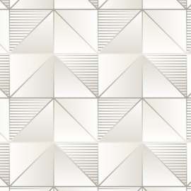 Rasch Galerie Geometrix Behang GX37633 Geometrisch/Modern/Driehoek