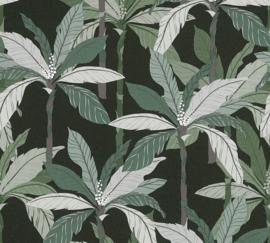AS Creation Geo Nordic Behang 37530-3 Botanisch/Bomen/Bladeren/Groen
