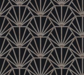 AS Creation Daniel Hechter 6 Behang 37528-1 Modern/Grafisch/3D/Zwart