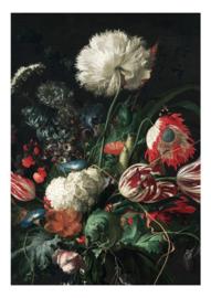 Kek Amsterdam Behang WP 200 Golden Age Flowers 1 Fotobehang - Dutch Wallcoverings