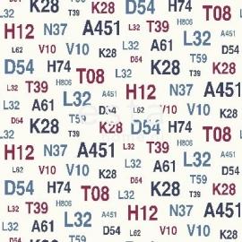 Esta Regatta Crew Behang 136438 Cijfers/Stoer/Modern/Kinderkamer