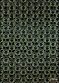 Komar/Noordwand Heritage Edition1 Fotobehang HX4-034 Paon Vert/Pauw/Modern  Behang