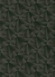 Behangexpresse Spotlight Behang 10106-15 Modern/Grafisch/3D/Zwart/Glitter