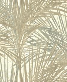 BN Wallcoverings/Voca Zen Behang 218742 Palm Lust/Bladeren/Botanisch/Natuurlijk
