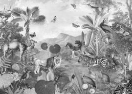 Komar Home Imagine Edition 4 Fotobehang X7-1016 Flora and Fauna/Botanisch/Bladeren/Dieren