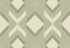 Hookedonwalls Tinted Tiles Behang 29034 Helix/Grafisch/Modern