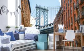 Dimex Fotobehang Manhattan Bridge MS-5-0012 Steden/Brug/Modern