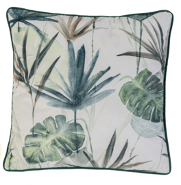 Rasch Barbara Home Collection Kussenhoes 201340 Botanisch/Bladeren