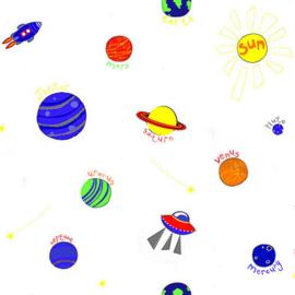 Behangexpresse Havana behang HA68464 Planeten/Heelal/Mars/Uranus/Space