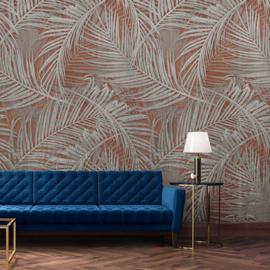 Dutch Wallcoverings One Roll One Motif Behang MY6002 Myriad/Botanisch/Bladeren/Natuurlijk