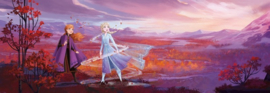 Noordwand/Komar Disney Edition4 Fotobehang 4-4104 Frozen Panorama/Elsa/Anna/Kinderkamer Behang