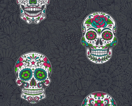 AS Creation Boys & Girls6 Behang 35817-3 Bloemen/Vlinders/Skull/Modern/Tieners