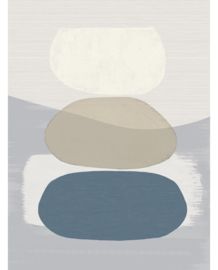 Eijffinger Bold Behang 395892 Balancing Rocks/Blues/Stenen/Natuurlijk/Modern