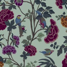 Hookedonwalls Daimon Behang DA23242 Botanisch/Bloemen/Vogels/Natuurlijk