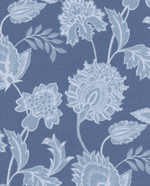 Eijffinger Savor Behang 353075 Bloemen/Klassiek/Blauw/blauwgrijs/Botanisch