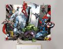 3D Pop Out Wall Decoration  44562 Marvel Avengers Behang - Dutch Wallcoverings