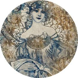 Komar Home Imagine Edition 4 Fotobehang D1-042 Goddess/Vrouw/Cirkel/Romantisch