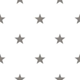 Noordwand #Hashtag Behang 11067 Sterren/Stoer/Modern/Grijs/Kinderkamer