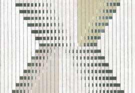 Hookedonwalls Sketch Behang 19601 Linked/Modern/Grafisch/Geometrisch/Lijnen