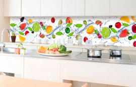 Dimex Zelfklevende Keuken Achterwand Fruit KL-350-001 Multi/Fruit