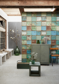 Studio Ditte Behang Container behang gemengd/Container wallpaper Mixed