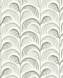 Eijffinger Mini Me Behang 399070 Botanisch/Retro/Bladeren/Kinderkamer/Groen