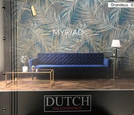 Dutch Wallcoverings One Roll One Motif Behang MY6001 Myriad/Botanisch/Bladeren