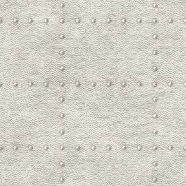 Dutch Wallcoverings Trilogy Behang FD25371 Staal/Metaal/Klinknagels
