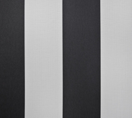 Zwart/Witte 7323-7 Strepen Behang -Outlet