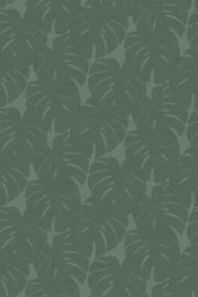 Origin Natural Fabrics Fotobehang 357228 Monstera Leaves/Bladeren/Natuurlijk/Modern