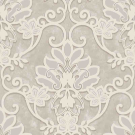 Behangexpresse Florence FR87212 Barok/Ornament/Klassiek/Taupe Behang