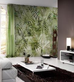 Behangexpresse Colorful Behang INK7315 Soft Jungle/Botanisch/Bladeren/Natuurlijk Fotobehang