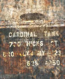 Rasch Factory IV Fotobehang 429794 Cardinal Tank/Verweerd/Modern/Industrieel/Landelijk