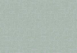 Hookedonwalls Sketch Behang 19532 Turns/Modern/Grafisch/Lijnen