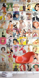 Esta Home #FAB Behang 158104 XXL Magazine Covers Fotobehang