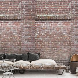 Dutch Wallcoverings One Roll One Motif Behang A42901 Castle Wall/Bakstenen/Wand/3D/Kasteelmuur