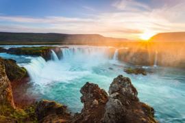 AS Creation Wallpaper XXL3  Fotobehang 470627XL Godafoss/IJsland/Waterval/Natuur